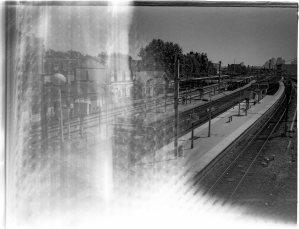 Houilles gare RER juillet-août 2003