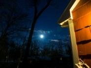 9 fevrier soir : apres la tempete de neige