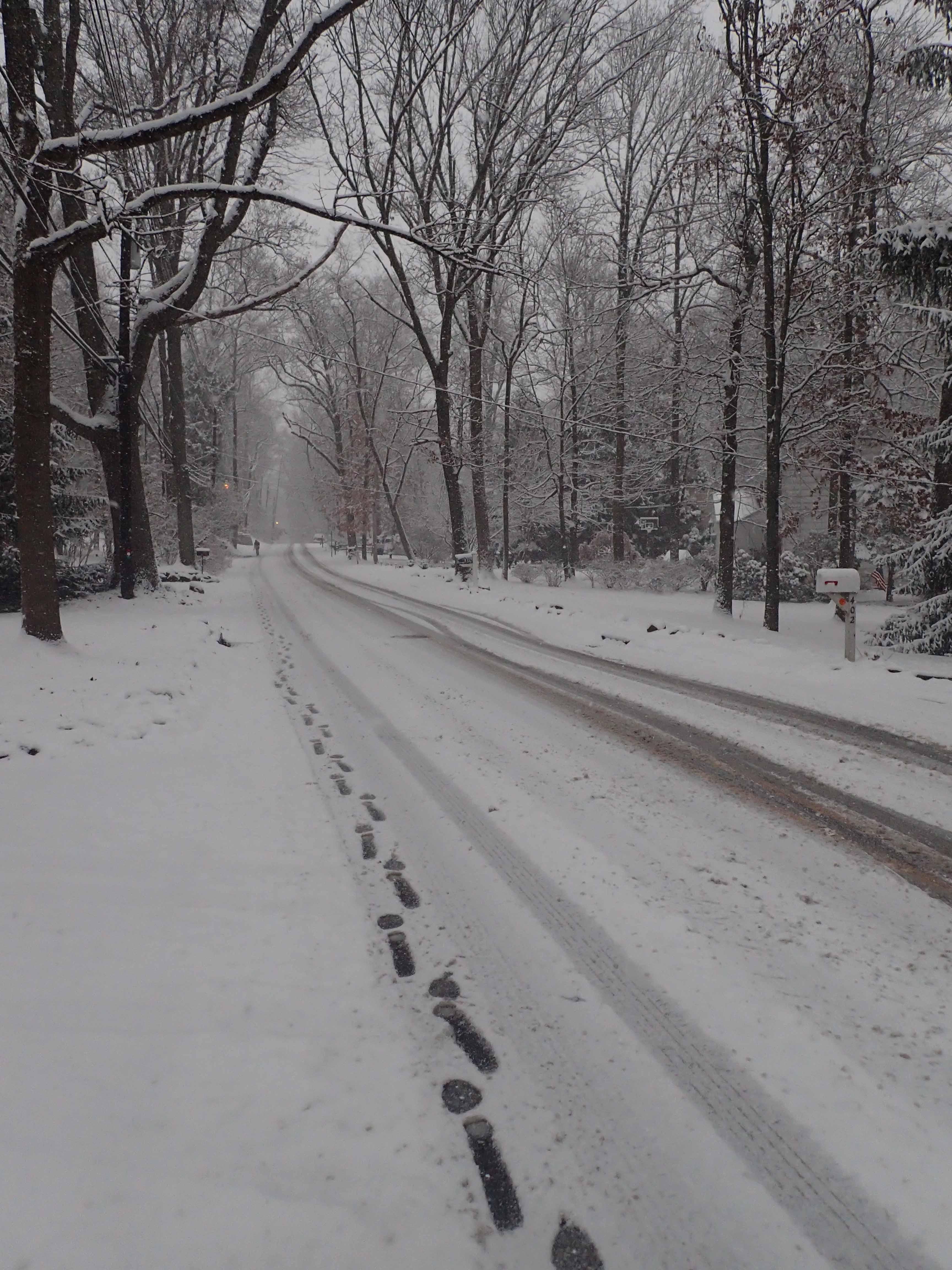 Premiere neige décembre 2017