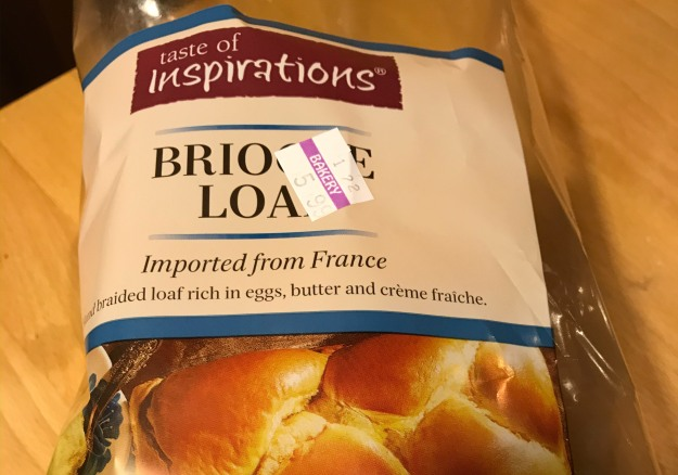 La brioche importée du supermarché